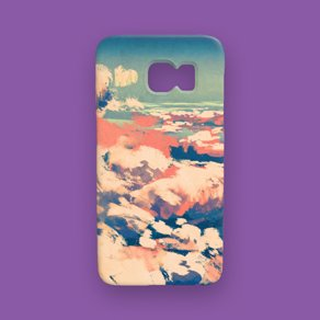 Picture of a custom Galaxy S7 case