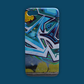Picture of a custom iPhone 7 case