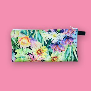 Picture of a custom printed pencil case