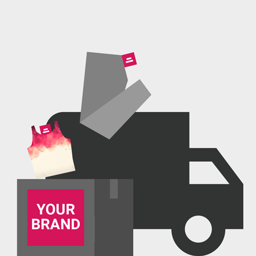 We ship your products with your branding