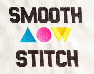 Smooth stitch