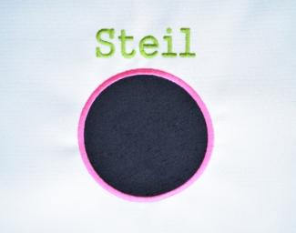 Steil stitch