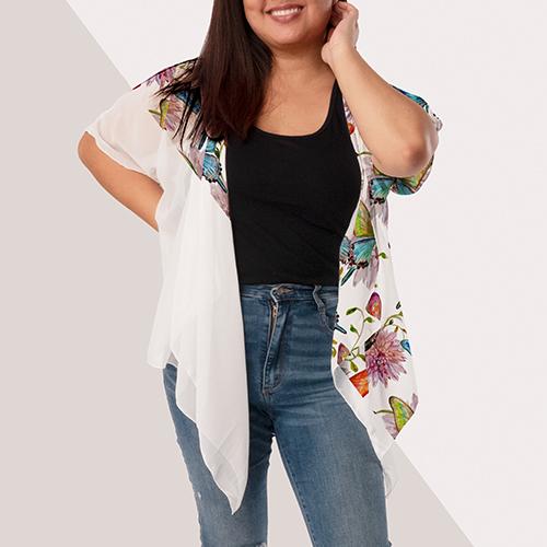 Picture of Draped Kimono