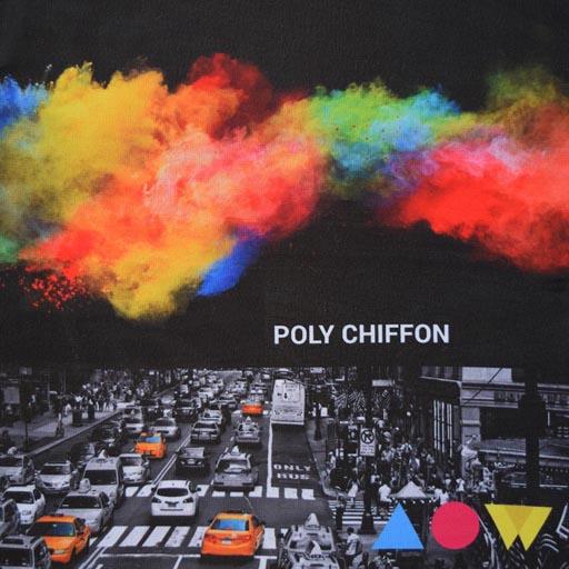 poly chiffon