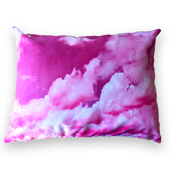 "Custom printed 26"" x 20"" throw pillow"