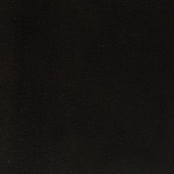 Black pillow velveteen fabric