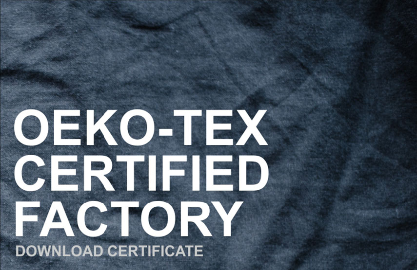 OEKO-TEX Certified Factory
