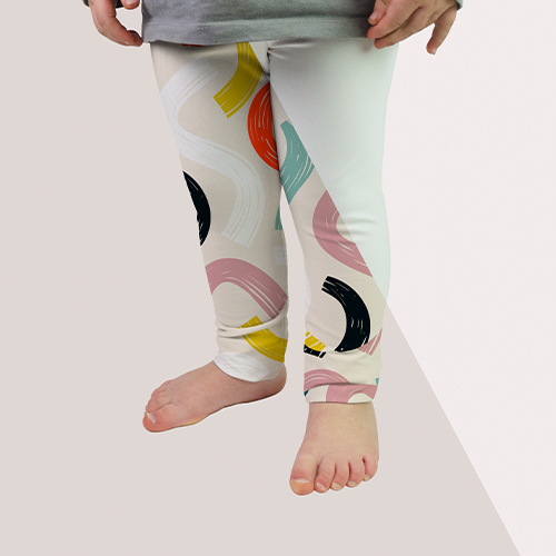 Picture of custom printed Baby Leggings