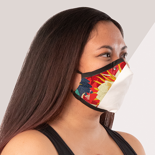Picture of custom printed Face Coverings
