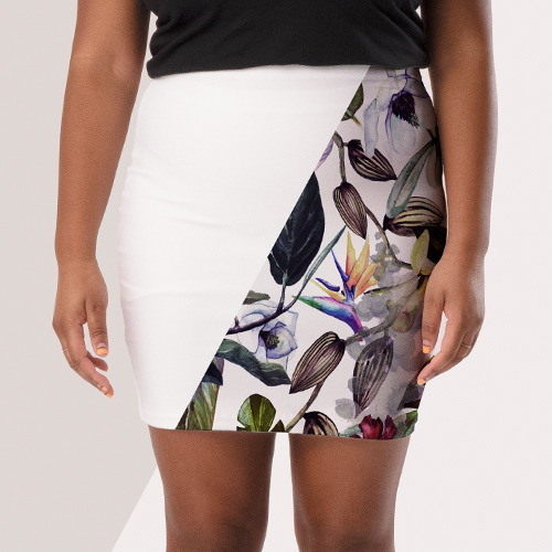 Picture of custom printed Skirts