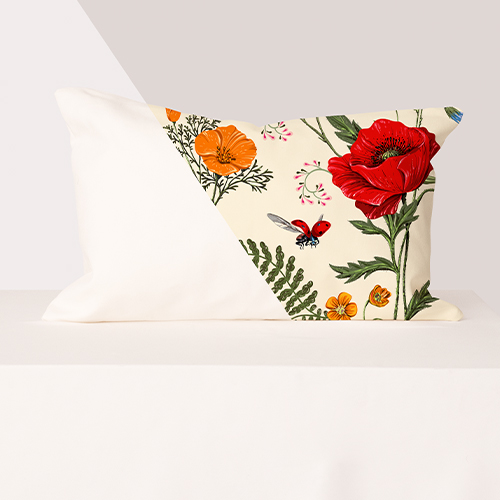 Photo de produit personnalisé Silk Bed Pillow Sleeves & Shams