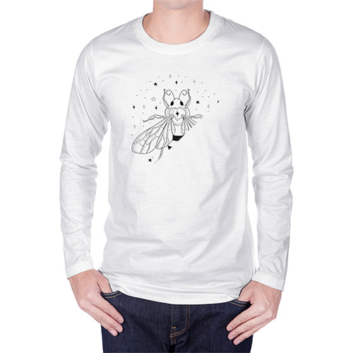 Picture of custom printed Long Sleeve T-Shirts