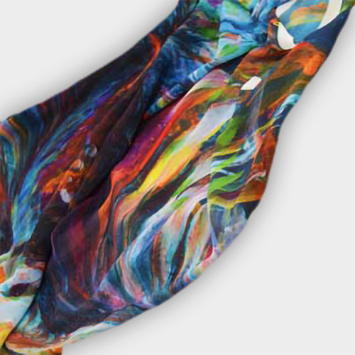 Picture of custom printed Woven polyester