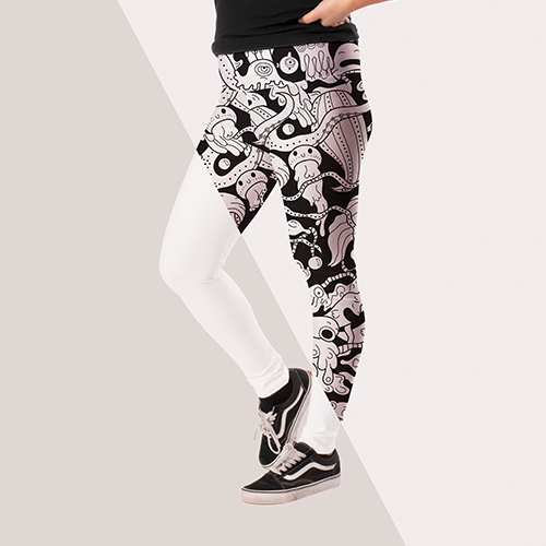 Picture of custom printed Yoga Leggings & Capris