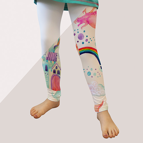 Picture of custom printed Youth Leggings
