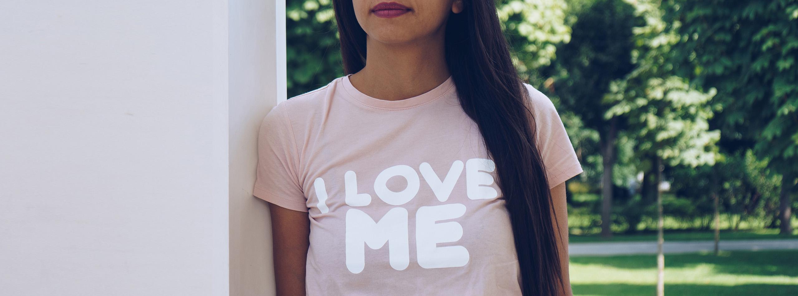 Bannière t-shirt pour femme 1