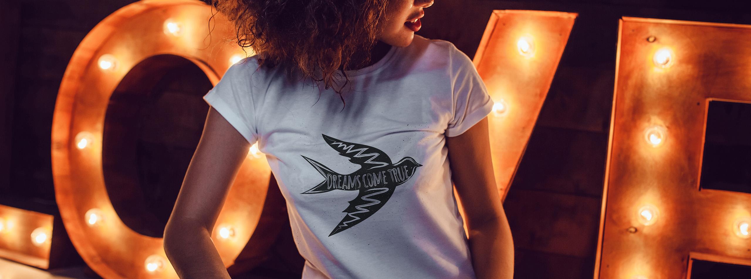 Bannière t-shirt pour femme 2