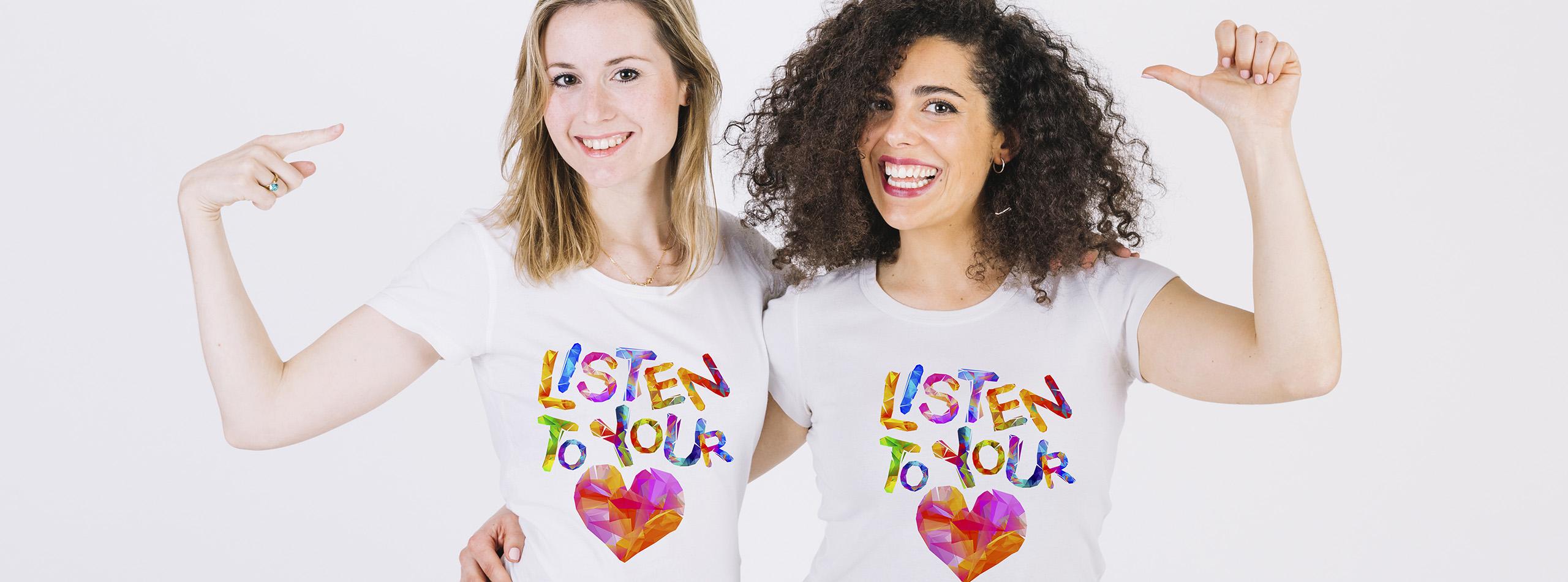 Bannière t-shirt pour femme 3