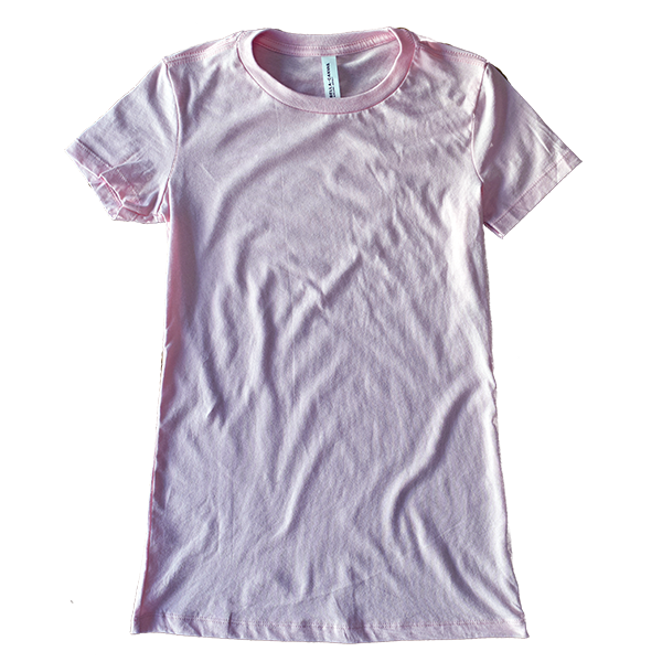T-shirt à plat