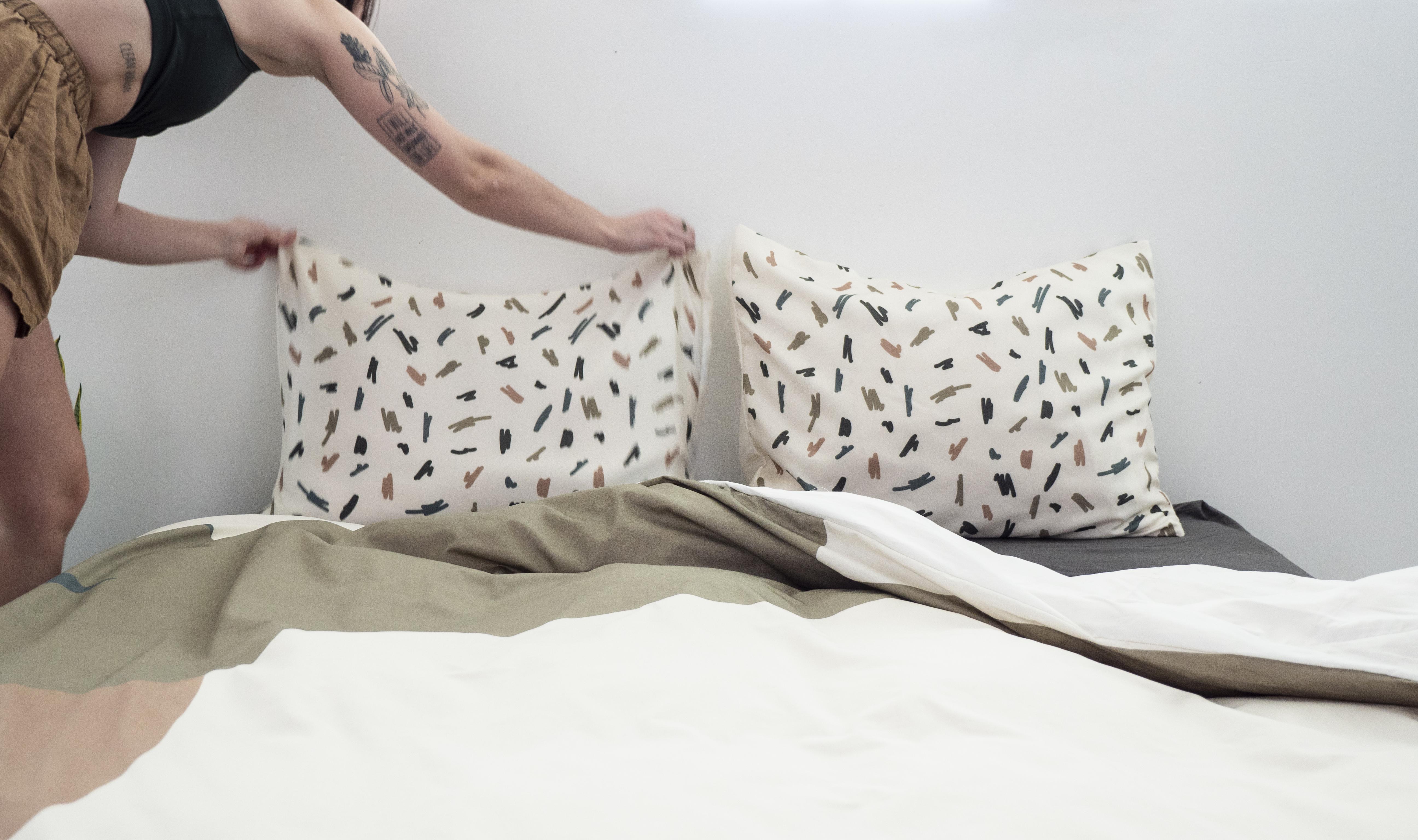 Custom Silk Bed Pillows