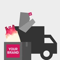 Nous livrons vos produits avec votre marque