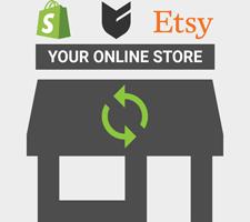 Synchroniser des produits à votre magasin Shopify ou Big Cartel