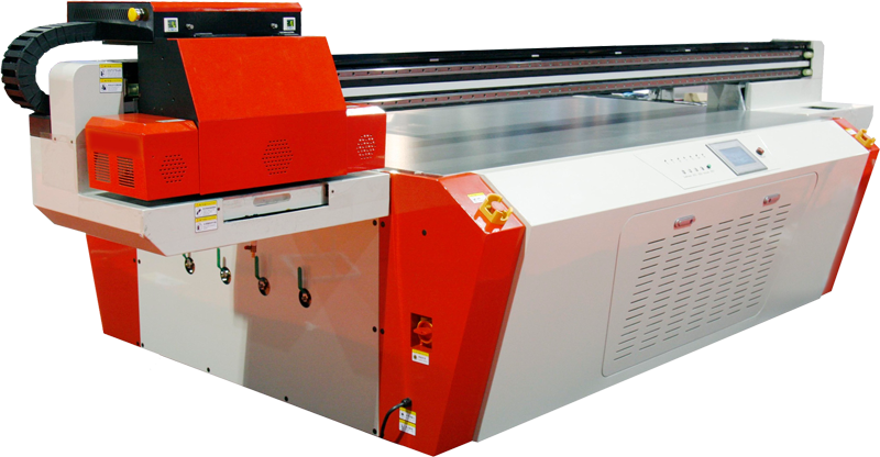 Rose Graphix UV-LED flatbed printer